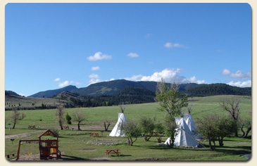 teepees view