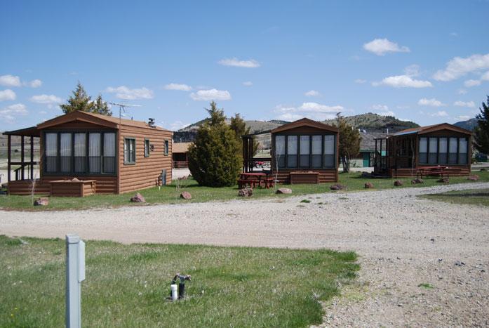 Fairmont RV Resort has 3 Cabins
